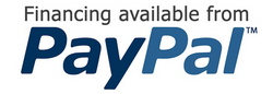 Financing available from PayPal