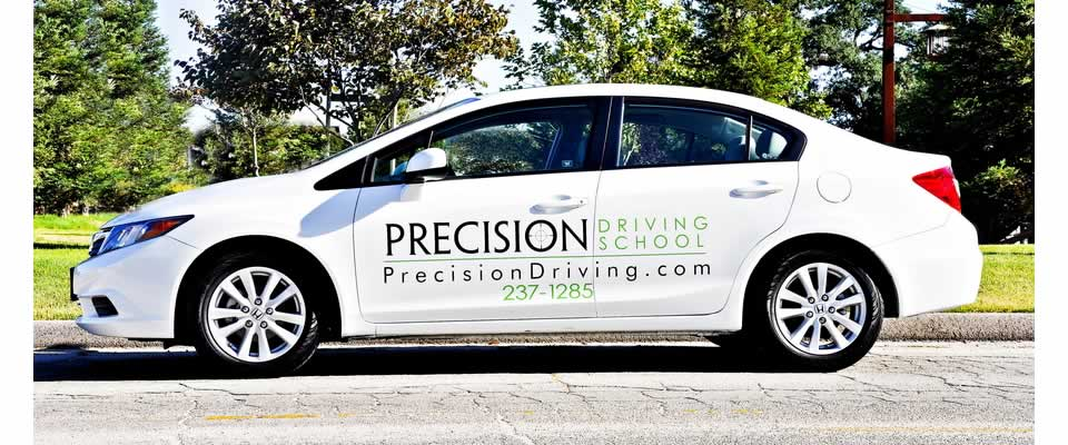 Precision Driving School is a locally owned,  family run business.